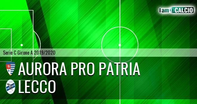 Aurora Pro Patria - Lecco