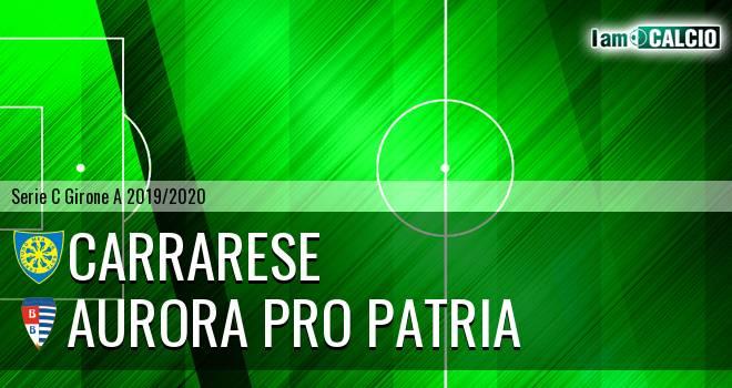 Carrarese - Aurora Pro Patria