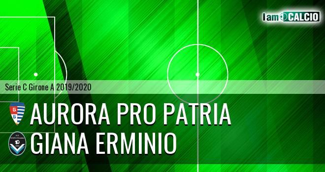 Aurora Pro Patria - Giana Erminio