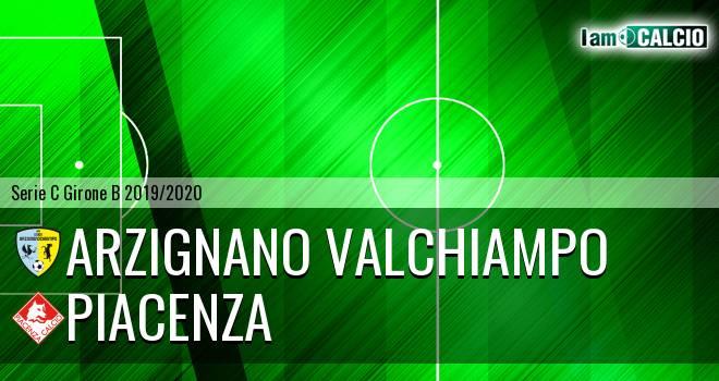 Arzignano Valchiampo - Piacenza