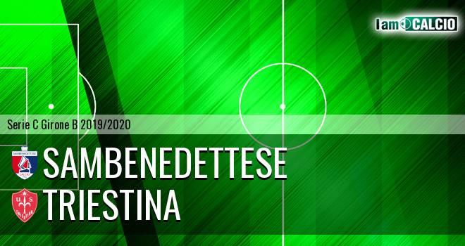 Sambenedettese - Triestina