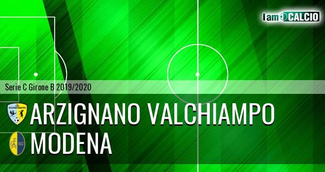 Arzignano Valchiampo - Modena