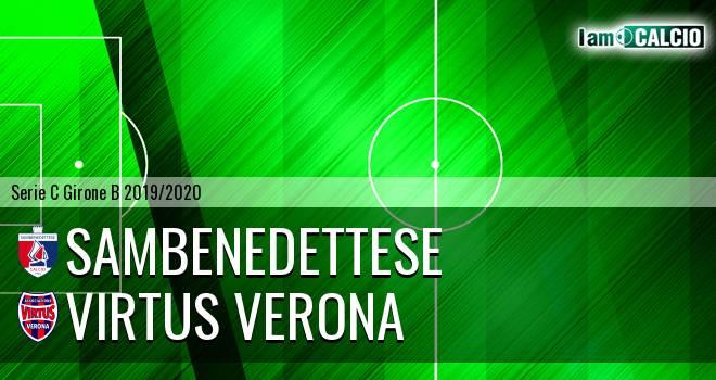 Sambenedettese - Virtus Verona
