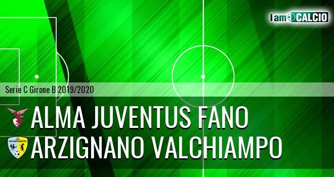 Alma Juventus Fano - Arzignano Valchiampo