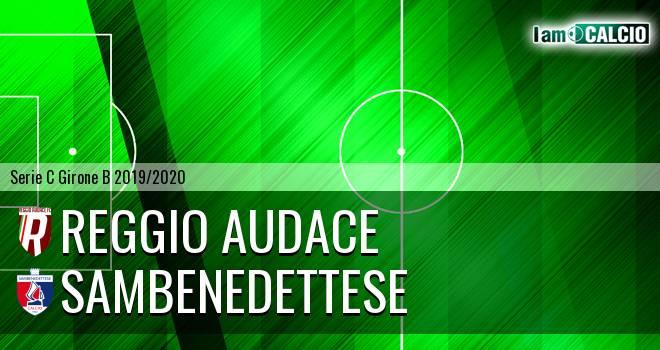 Reggio Audace - Sambenedettese