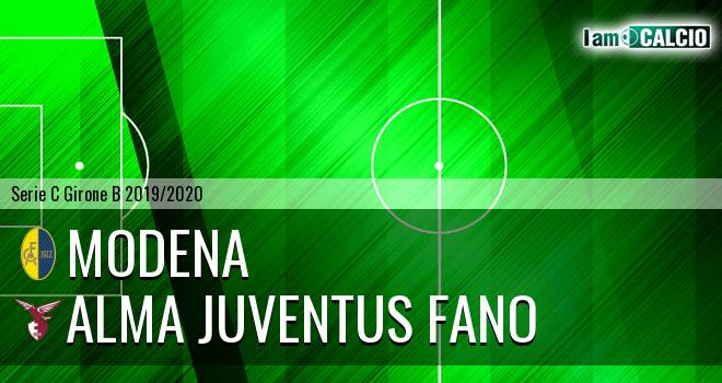Modena - Alma Juventus Fano