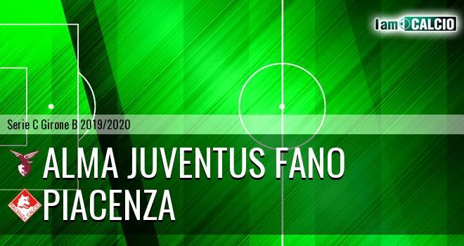 Alma Juventus Fano - Piacenza