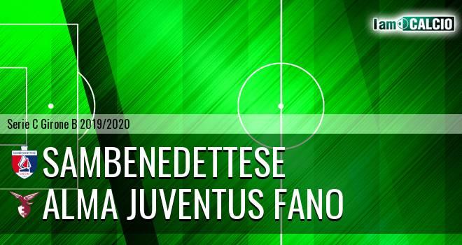 Sambenedettese - Alma Juventus Fano