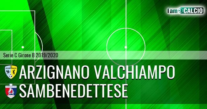Arzignano Valchiampo - Sambenedettese