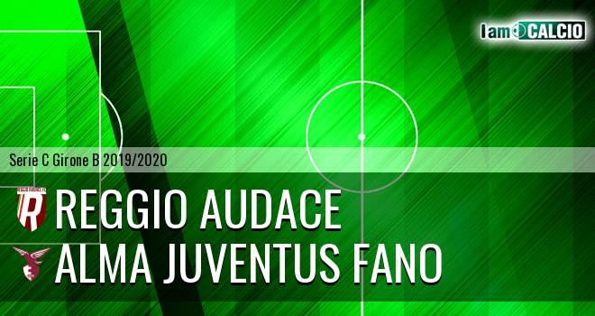 Reggio Audace - Alma Juventus Fano