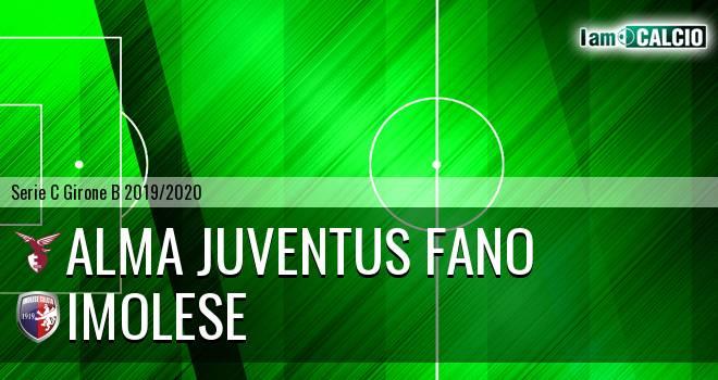 Alma Juventus Fano - Imolese