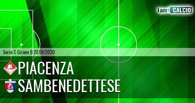 Piacenza - Sambenedettese