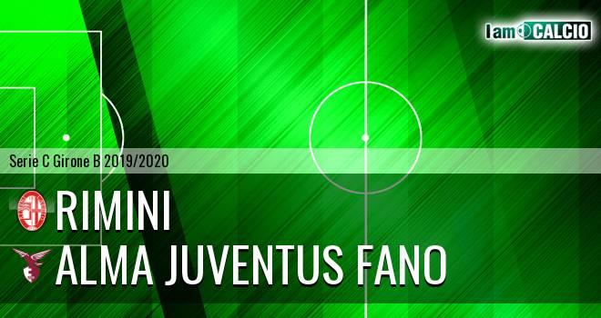 Rimini - Alma Juventus Fano
