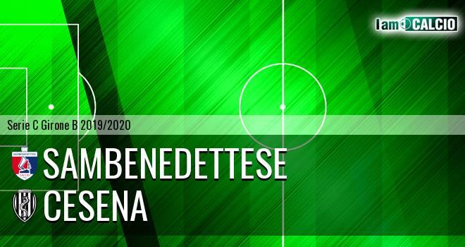 Sambenedettese - Cesena