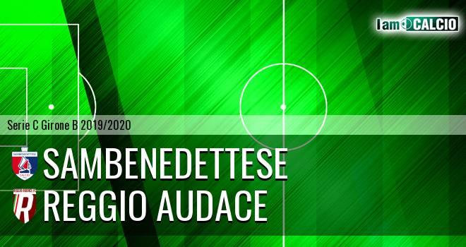 Sambenedettese - Reggio Audace