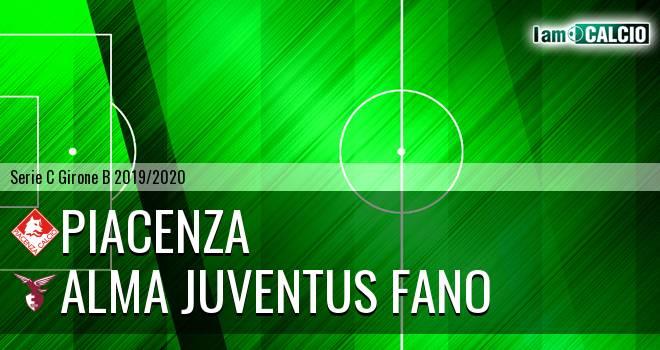 Piacenza - Alma Juventus Fano