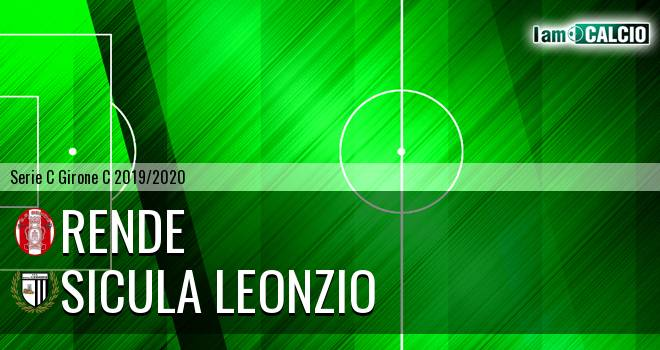 Rende - Sicula Leonzio