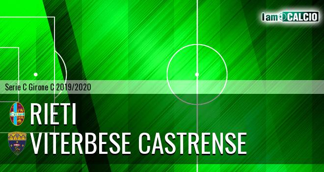 Rieti - Viterbese Castrense