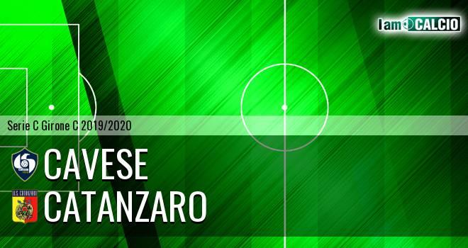 Cavese - Catanzaro 2-2. Cronaca Diretta 10/11/2019