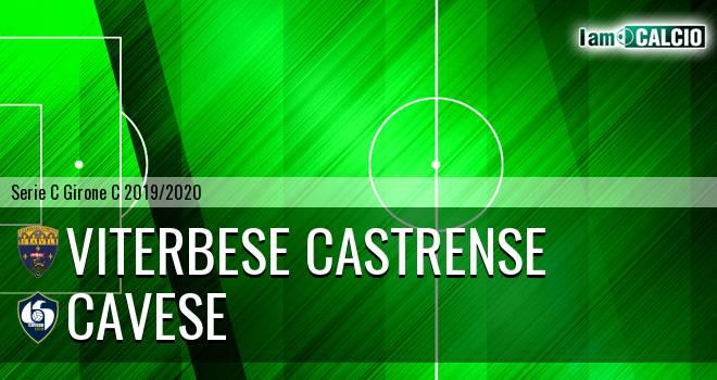 Viterbese Castrense - Cavese 0-1. Cronaca Diretta 17/11/2019