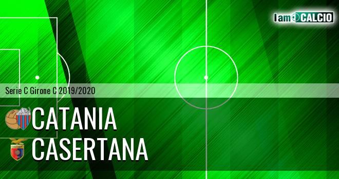 Catania - Casertana 1-1. Cronaca Diretta 24/11/2019
