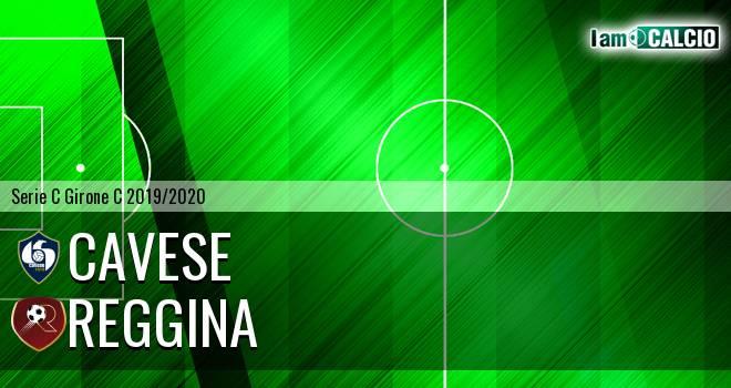 Cavese - Reggina 3-0. Cronaca Diretta 11/01/2020