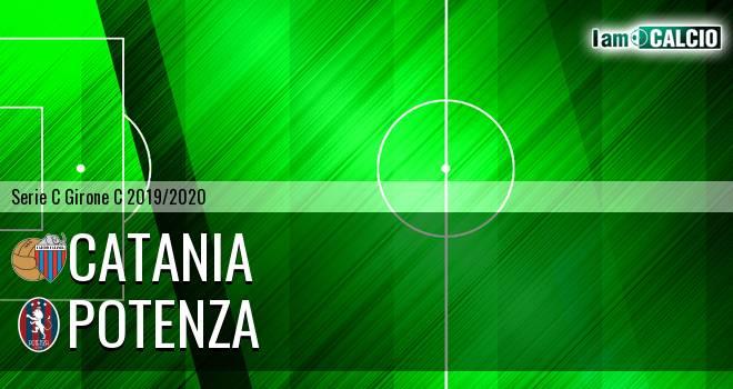 Catania - Potenza 1-1. Cronaca Diretta 19/01/2020