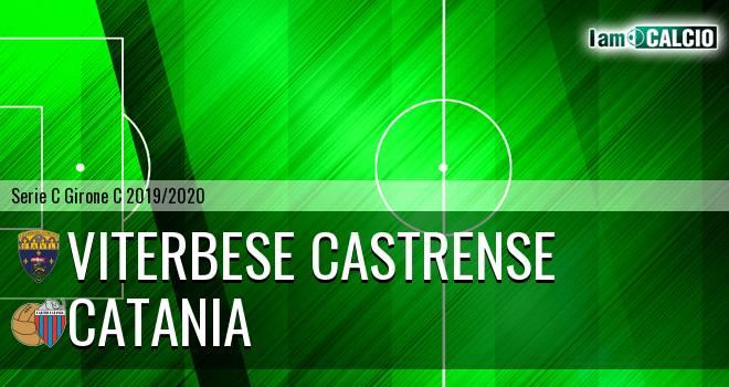 Viterbese Castrense - Catania 2-0. Cronaca Diretta 26/01/2020