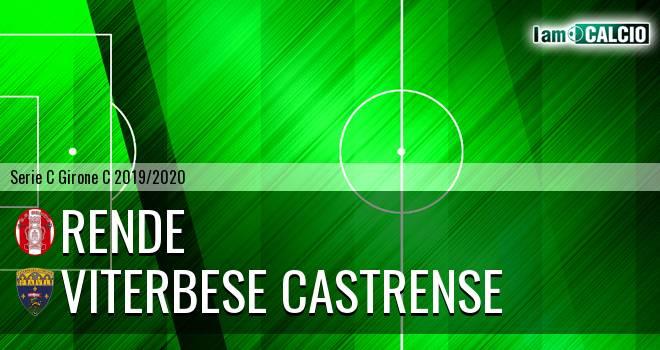 Rende - Viterbese Castrense