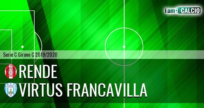 Rende - Virtus Francavilla