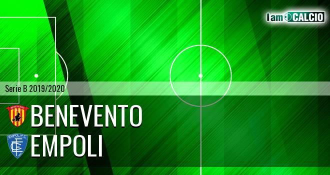 Benevento - Empoli 2-0. Cronaca Diretta 03/11/2019