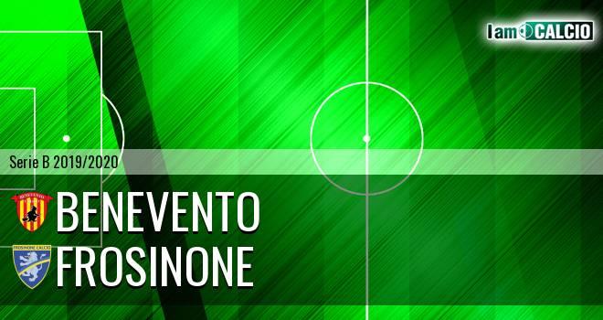 Benevento - Frosinone 1-0. Cronaca Diretta 21/12/2019