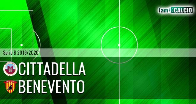 Cittadella - Benevento 1-2. Cronaca Diretta 25/01/2020