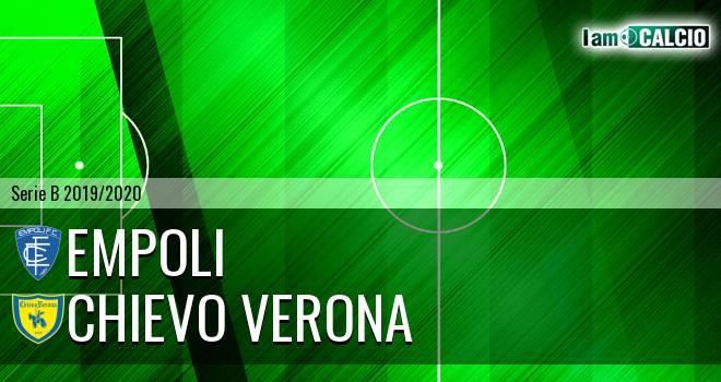 Empoli - Chievo Verona 1-1. Cronaca Diretta 24/01/2020
