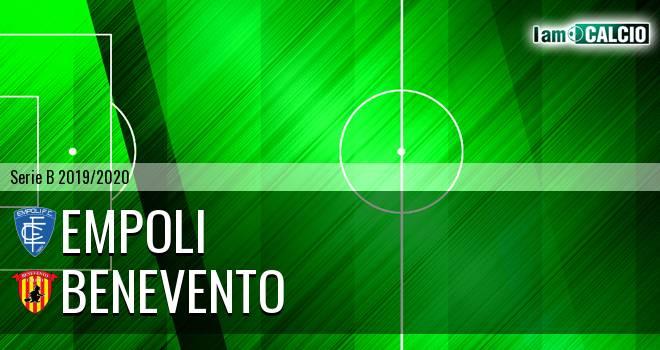 Empoli - Benevento 0-0. Cronaca Diretta 26/06/2020