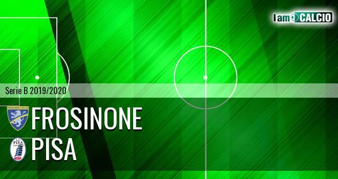 Frosinone Pisa Serie B 2019 2020 Live Diretta Tabellino