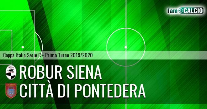 Robur Siena - Città di Pontedera