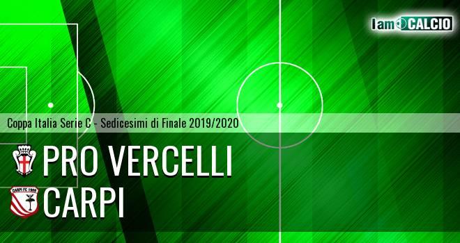 Pro Vercelli - Carpi