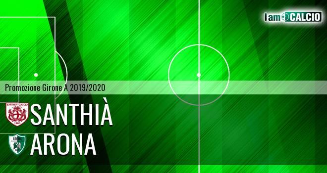 Santhià - Arona 2-0. Cronaca Diretta 08/09/2019