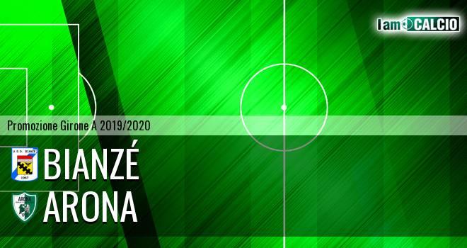 Bianzé - Arona 0-0. Cronaca Diretta 22/09/2019