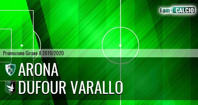 Arona - Dufour Varallo 1-2. Cronaca Diretta 13/10/2019