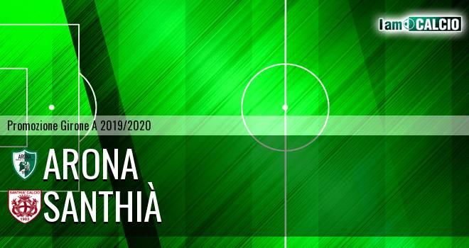Arona - Santhià 3-2. Cronaca Diretta 19/01/2020