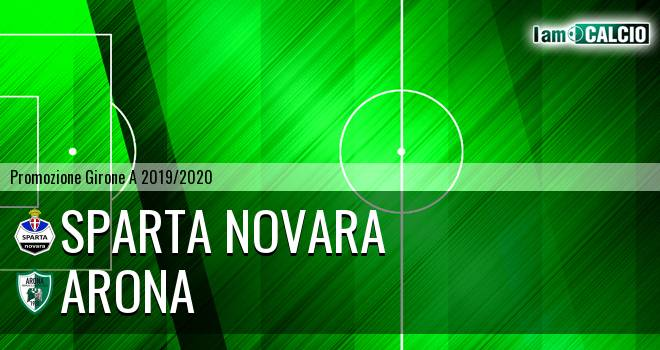 Sparta Novara - Arona 0-0. Cronaca Diretta 26/01/2020