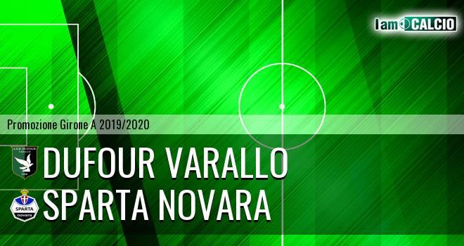 Dufour Varallo - Sparta Novara