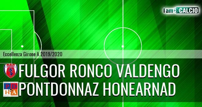Fulgor Ronco Valdengo - PontDonnaz HoneArnad Evanco