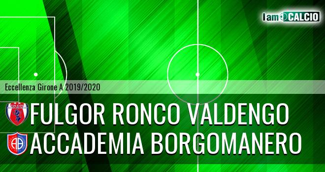 Fulgor Ronco Valdengo - Accademia Borgomanero