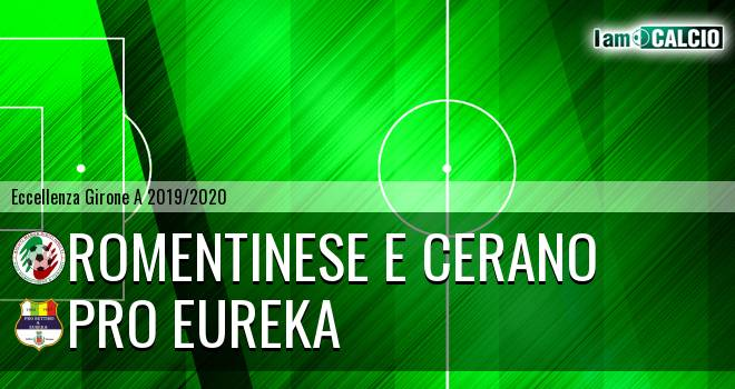 Romentinese e Cerano - Pro Eureka