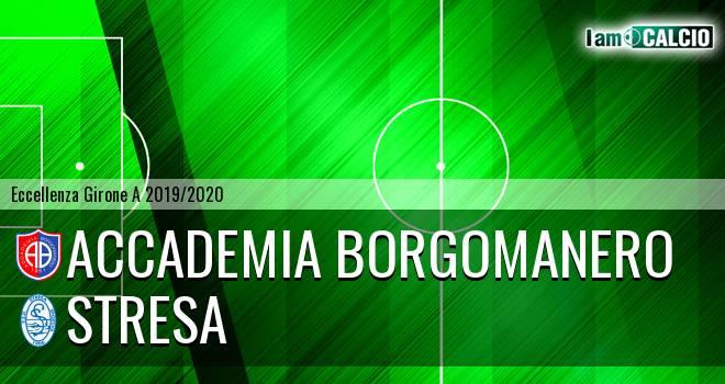 Accademia Borgomanero - Stresa