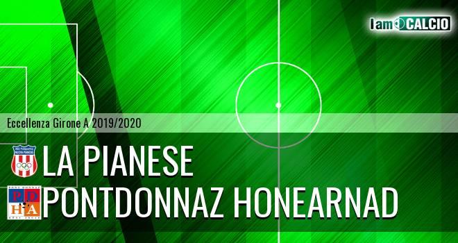 La Pianese - PontDonnaz HoneArnad Evanco