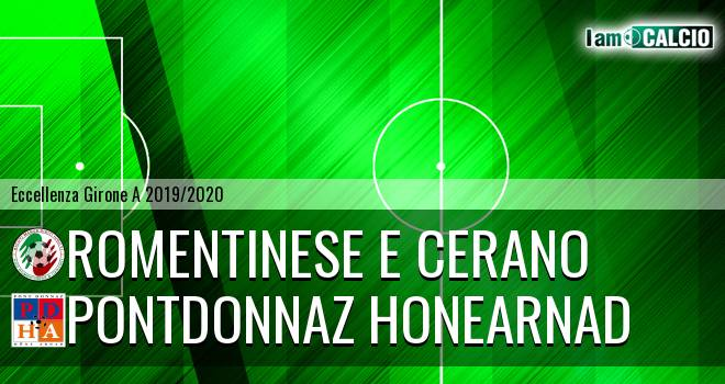 Romentinese e Cerano - PontDonnaz HoneArnad Evanco